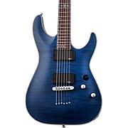 C-1 Platinum Electric Guitar Satin Transparent Midnight Blue