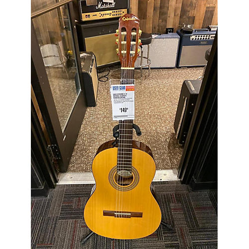 used epiphone c 10 classical acoustic guitar natural guitar center. Black Bedroom Furniture Sets. Home Design Ideas