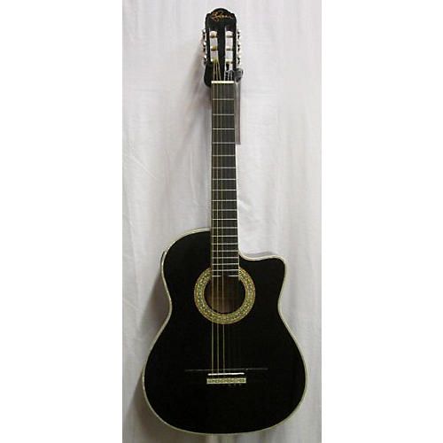 used esteban c 100 acoustic electric guitar guitar center. Black Bedroom Furniture Sets. Home Design Ideas