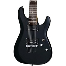 C-7 Deluxe Seven-String Electric Guitar Satin Black