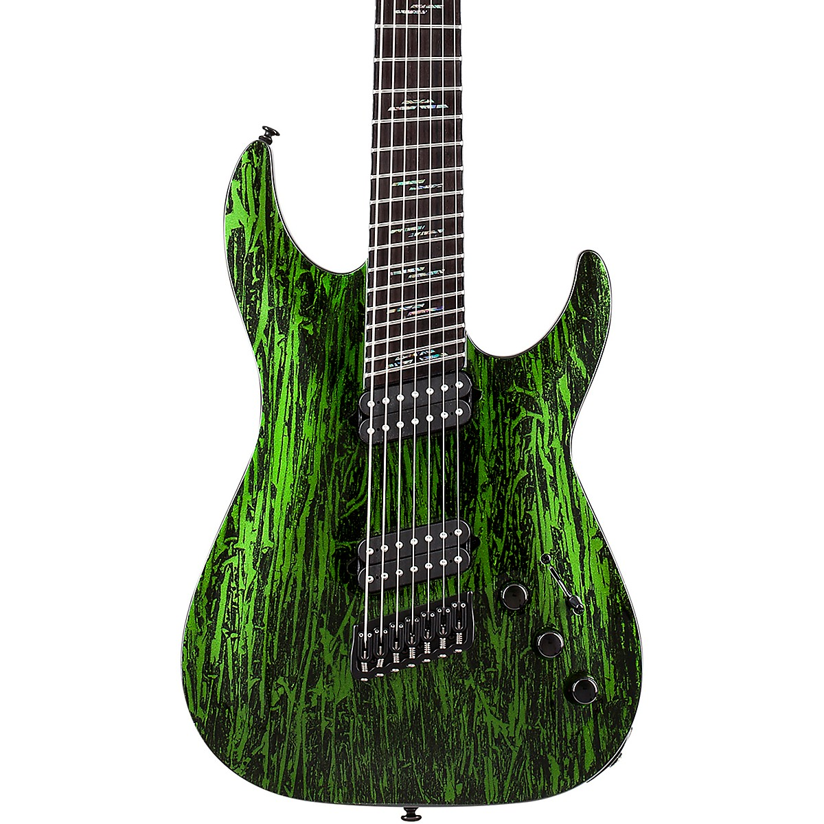 Schecter Guitar Research C-7 MS Silver Mountain 7-String Multiscale Electric Guitar