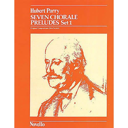 Music Sales C. Hubert Parry: Seven Chorale Preludes Set 1 For Organ Music Sales America Series