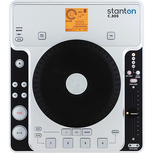 Stanton C.303 Tabletop CD Player with Sampling