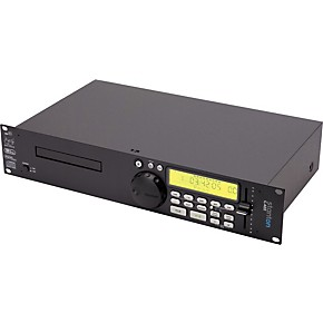 stanton single rackmount cd player with mp guitar center. Black Bedroom Furniture Sets. Home Design Ideas