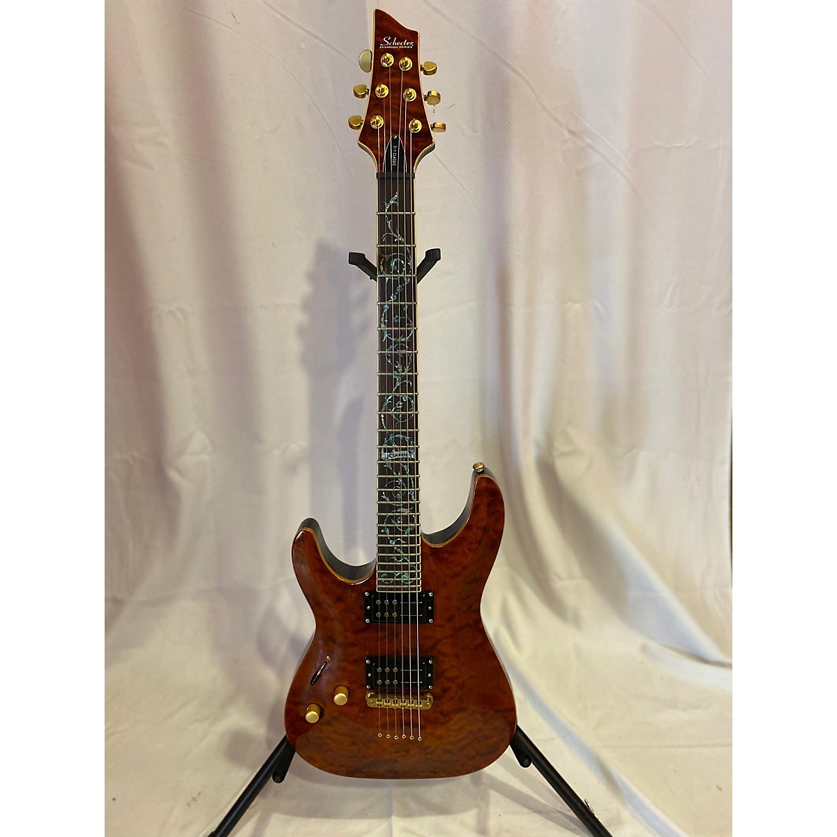 Schecter Guitar Research C1 Classic Left Handed Electric Guitar