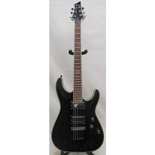 used schecter guitar research c1 elite solid body electric guitar black guitar center. Black Bedroom Furniture Sets. Home Design Ideas