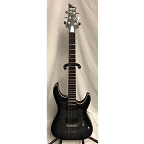 used schecter guitar research c1 platinum solid body electric guitar trans gray guitar center. Black Bedroom Furniture Sets. Home Design Ideas