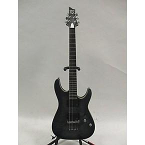 used schecter guitar research c1 platinum solid body electric guitar trans black guitar center. Black Bedroom Furniture Sets. Home Design Ideas