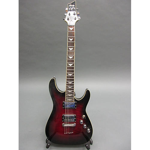 used schecter guitar research c1 plus solid body electric guitar wine red guitar center. Black Bedroom Furniture Sets. Home Design Ideas