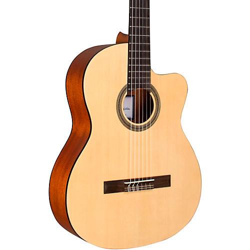 Cordoba C1M-CE Protege Cutaway Nylon-String Acoustic-Electric Classical Guitar