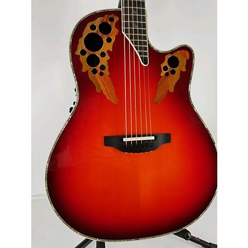 Ovation C2078 Custom Elite LX Acoustic Electric Guitar