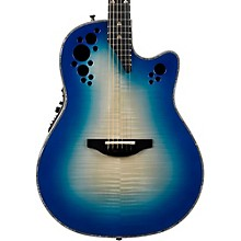 C2078AXP Elite Plus Contour Acoustic-Electric Guitar Transparent Blue