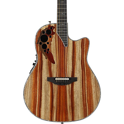 Ovation C2078AXP-SP Exotic Wood Elite Plus Striped Padauk Acoustic-Electric Guitar