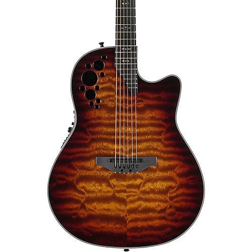 ovation c2078axp stb exotic wood elite plus sapeli acoustic electric guitar tobacco burst. Black Bedroom Furniture Sets. Home Design Ideas