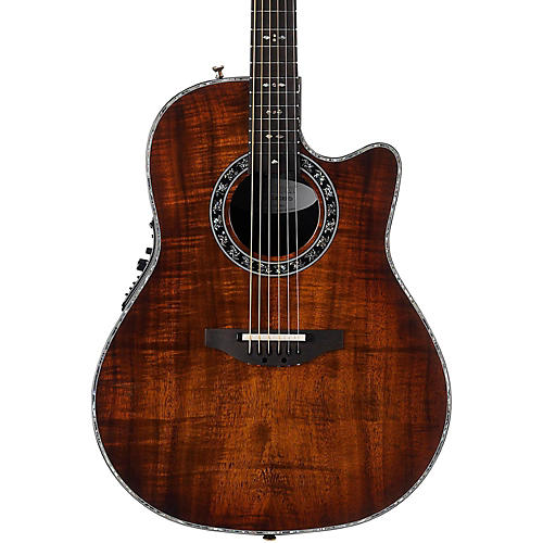 Ovation C2079AXP-KOAB Custom Legend Contour Acoustic-Electric Guitar