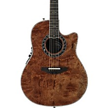 Ovation C2079AXP-MB Exotic Wood Legend Plus Multi-Color Bubinga Acoustic-Electric Guitar