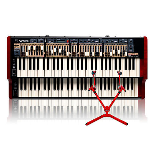 Nord C2D Combo Organ with Matching 2-Tier Keyboard Stand