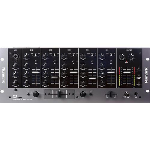 Numark C3USB DJ Mixer with USB