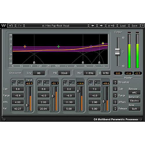 Waves C4 Multiband Compressor Native/TDM/SG Software Download