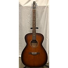 Seagull C6 CONCERT HALL BURNT UMBER Q1T Acoustic Guitar