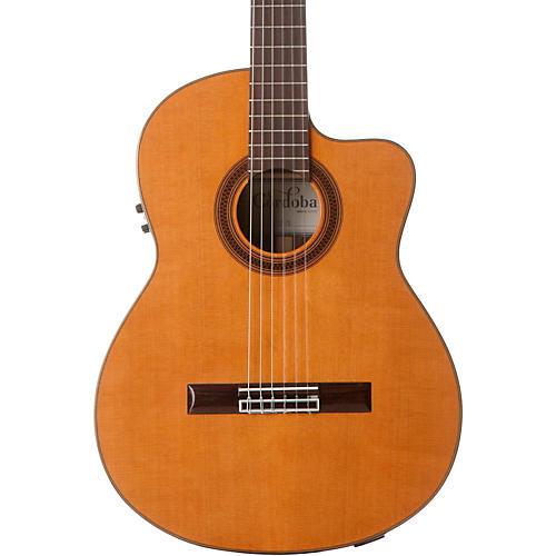 Cordoba C7-CE CD Acoustic-Electric Nylon String Classical Guitar