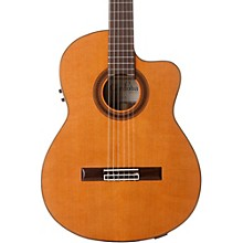C7-CE CD Acoustic-Electric Nylon String Classical Guitar Level 2 Natural 190839529596