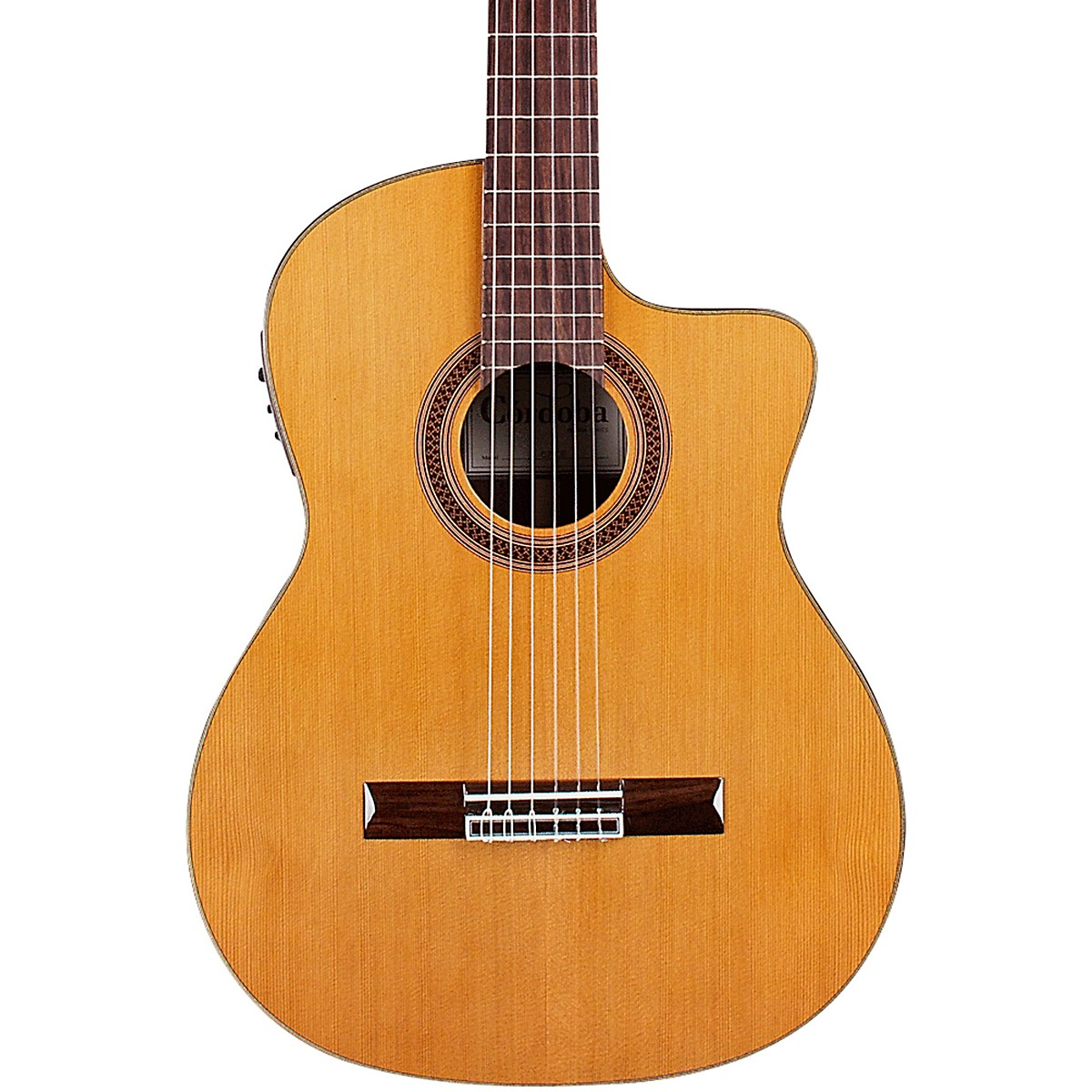 Cordoba C7-CE CD Classical Nylon Acoustic-Electric Guitar