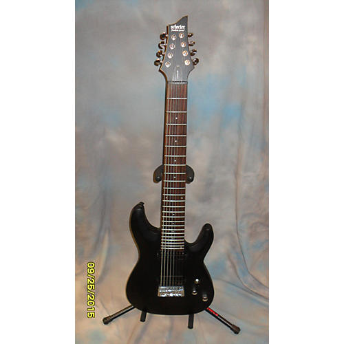 Schecter Guitar Research C8 EX Black Solid Body Electric Guitar
