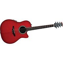 CA24S-HB Celebrity Mid-Depth Solid Top Acoustic-Electric Guitar Level 2 Honey Burst 888365303765
