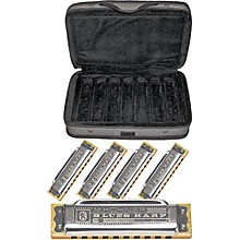 Hohner CASE OF BLUES Harmonica 5-Pack