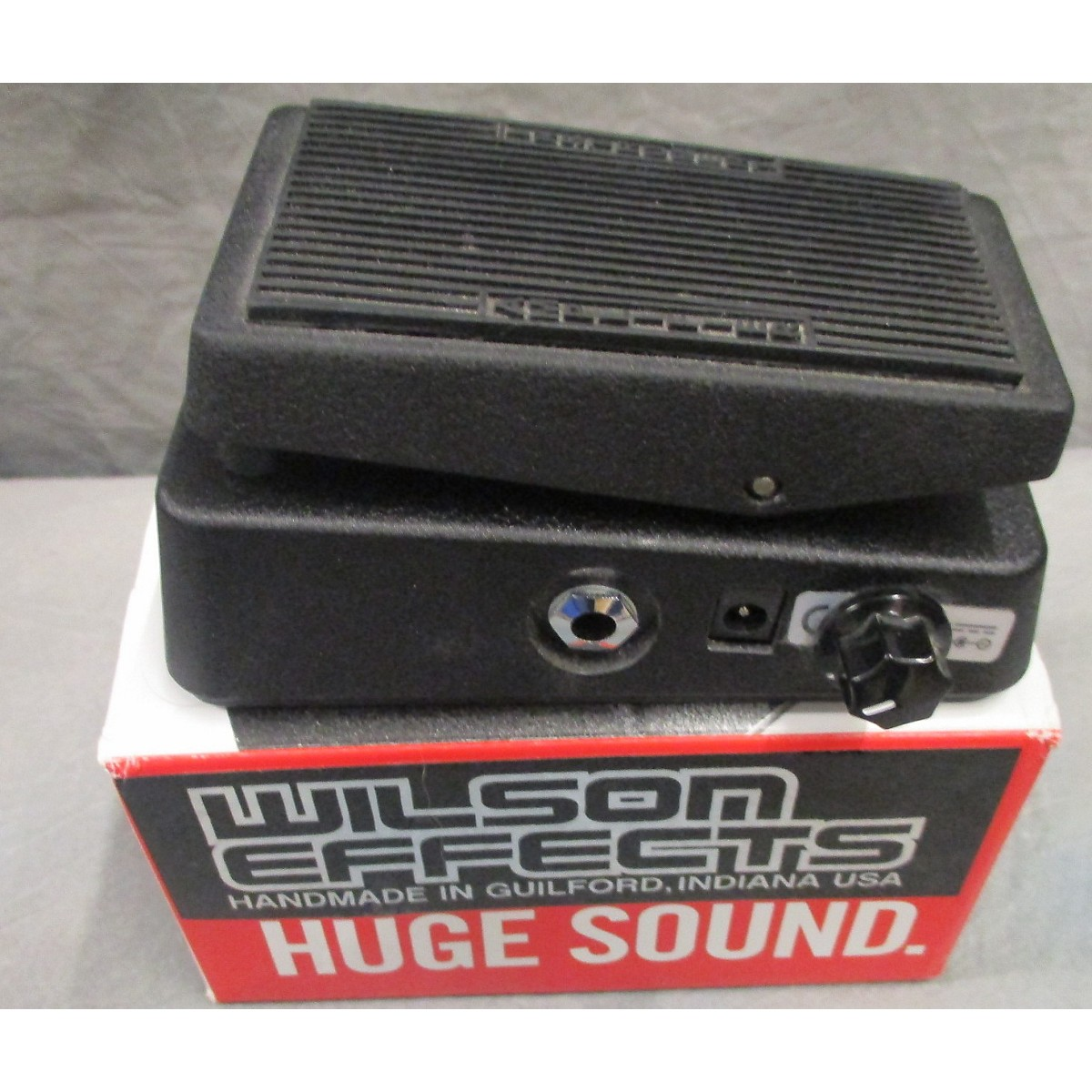 Used Dunlop Cbm95 Cry Baby Mini Wah  Wilson Mod Effect