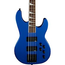 Jackson CBXNT IV Electric Bass Guitar Level 1 Metallic Blue Rosewood Fingerboard
