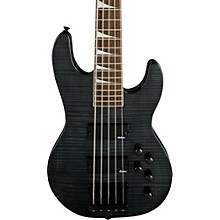 CBXNT V 5-String Electric Bass Guitar Trans Black Rosewood Fingerboard