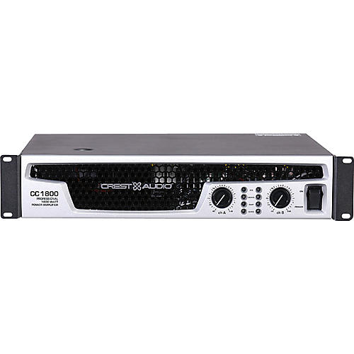 Crest Audio CC 1800 1850W Power Amplifier