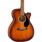 CC-60SCE All-Mahogany Limited Edition Acoustic-Electric Guitar Satin Aged Cognac Burst