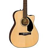 Fender CC-60SCE Concert Acoustic-Electric Guitar Natural