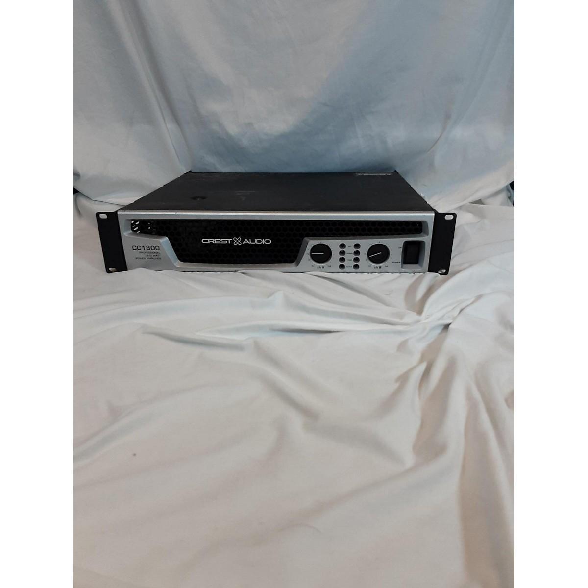 Crest Audio CC1800 Powered Mixer