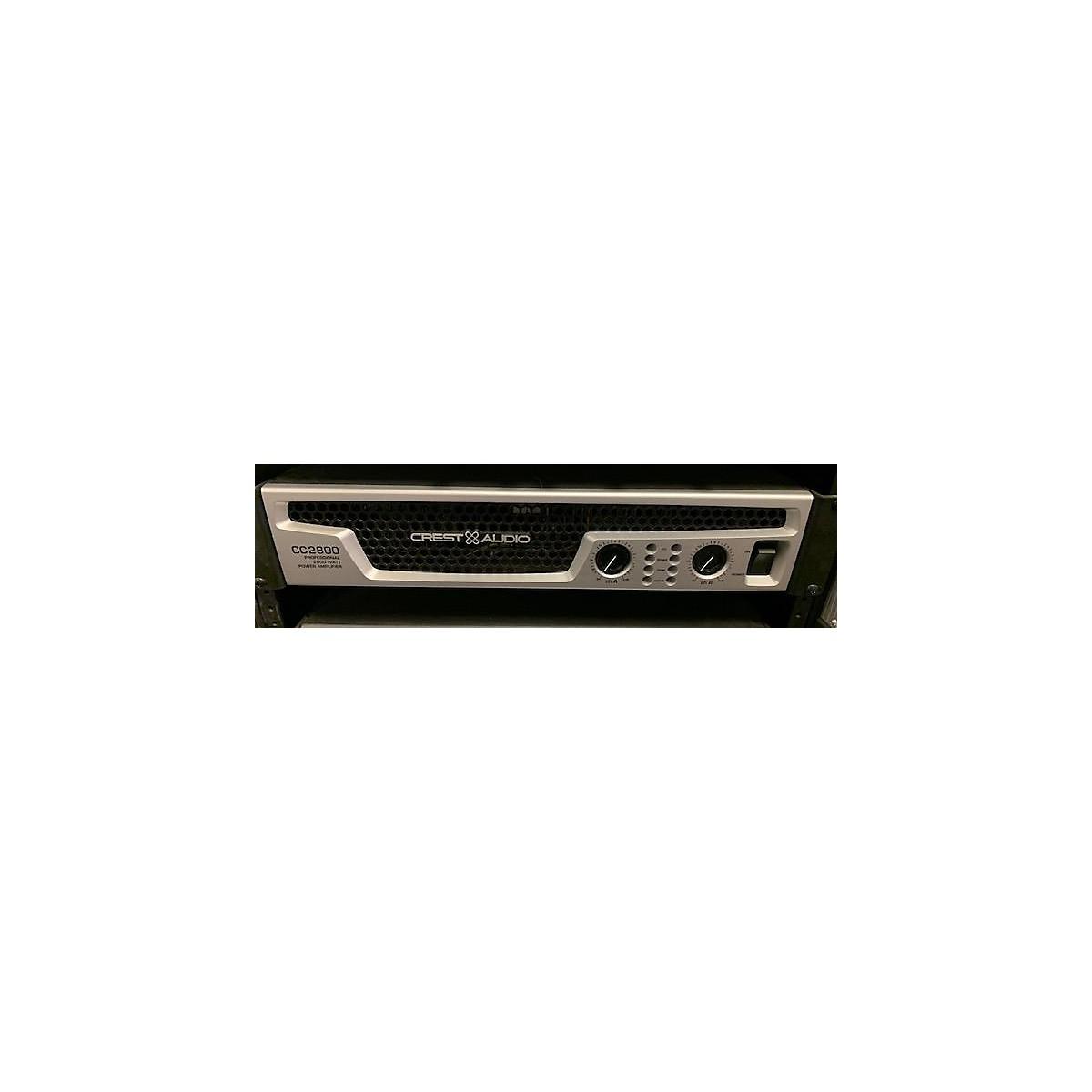 Crest Audio CC2800 Power Amp