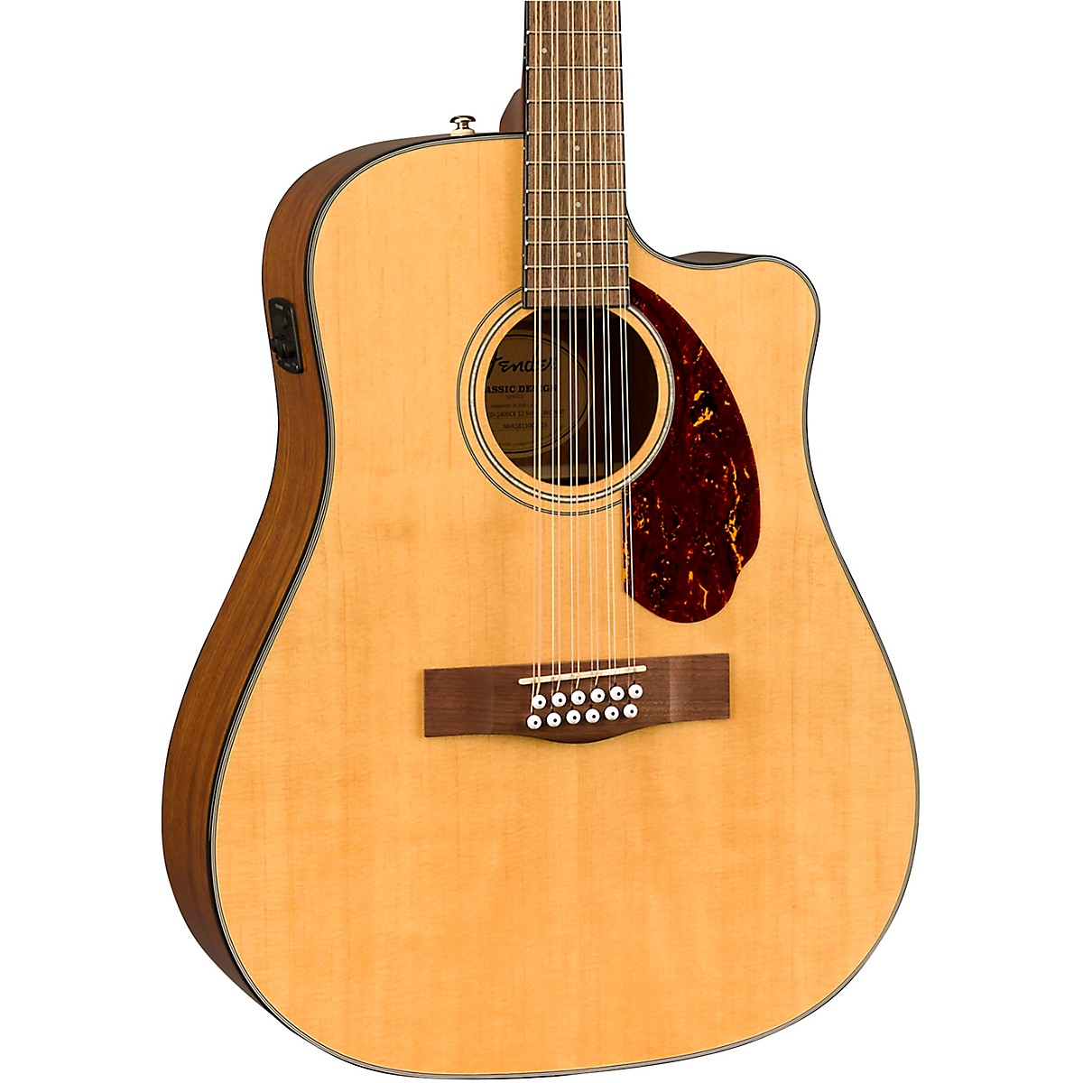 Fender CD-140SCE 12-String Dreadnought Acoustic-Electric Guitar