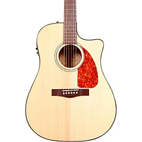 fender cd 280sce dreadnought cutaway acoustic electric guitar guitar center. Black Bedroom Furniture Sets. Home Design Ideas