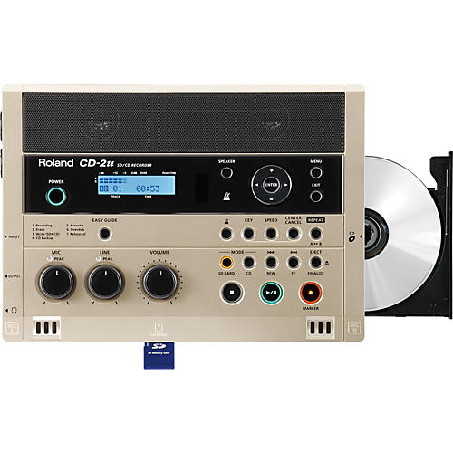 Roland CD-2u SD/CD Recorder
