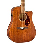 CD-60SCE All-Mahogany Limited Edition Acoustic-Electric Guitar Satin Natural