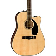 CD-60SCE Dreadnought Acoustic-Electric Guitar Natural
