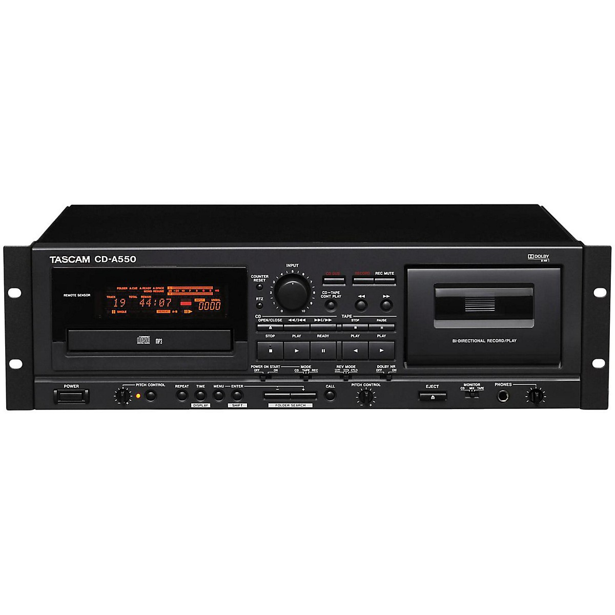 Tascam CD-A550 CD Player/Cassette Recorder