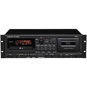 tascam cd a550 cd player cassette recorder guitar center. Black Bedroom Furniture Sets. Home Design Ideas
