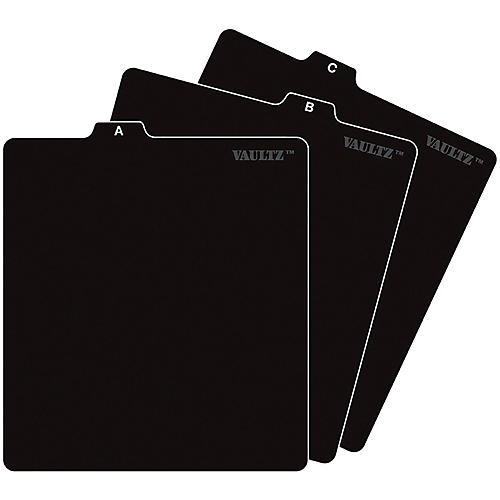 Vaultz CD File Folder Guides