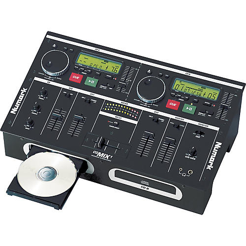 Numark CD Mix-1 Dual CD Player/Mixer