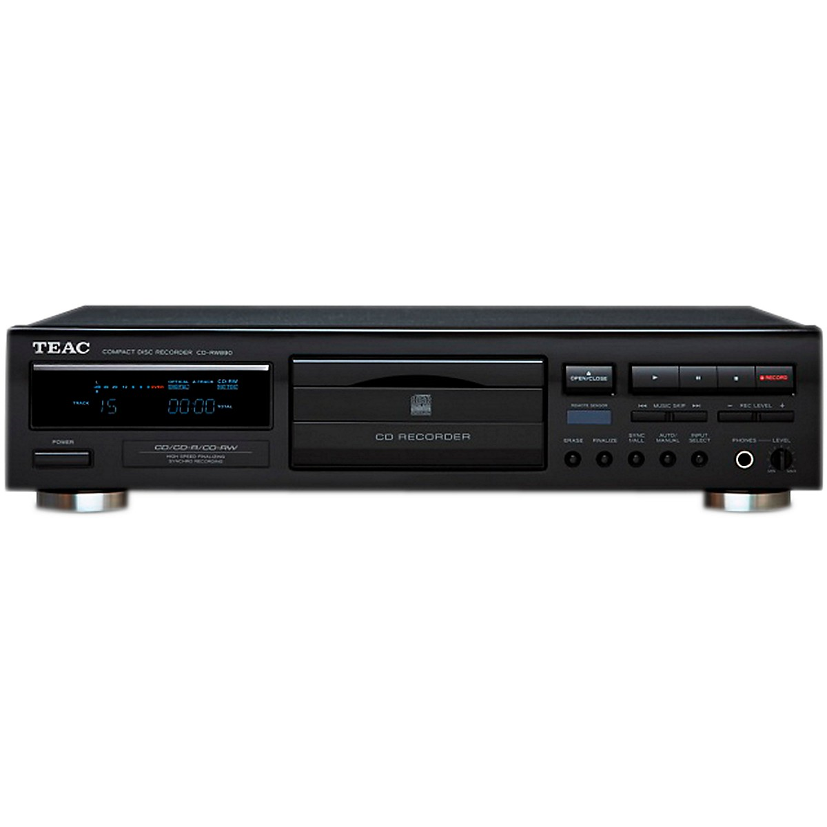 TEAC CD-RW890 Consumer CD Recorder/Player