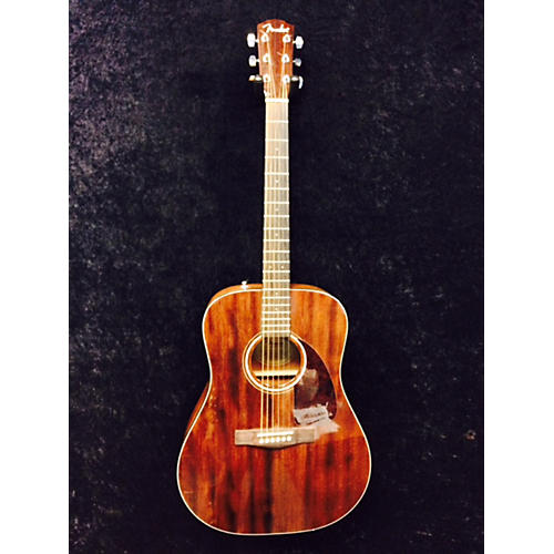 Fender CD140S Dreadnought Mahogany Acoustic Guitar