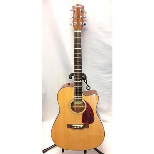 used fender cd140sce acoustic electric guitar natural guitar center. Black Bedroom Furniture Sets. Home Design Ideas